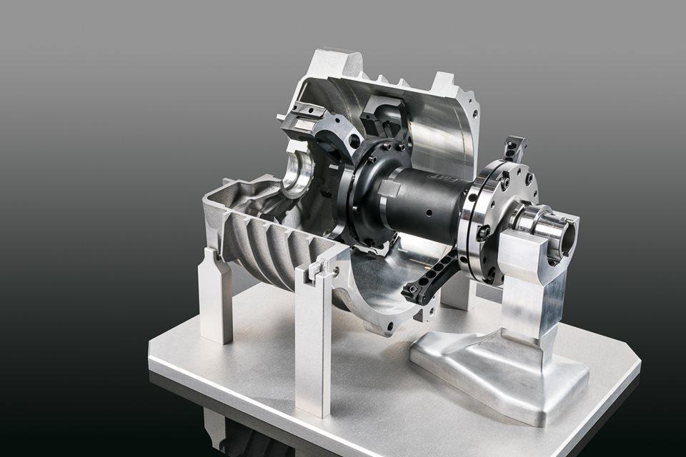 Tools for EV motor housing machining